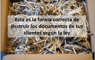 como destruir documentos